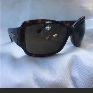 Salvatore Ferragamo Brown Tortoise Sunglasses